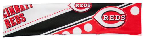 Cincinnati Reds Stretch Patterned Headband - Special Order