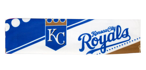 Kansas City Royals Stretch Patterned Headband - Special Order