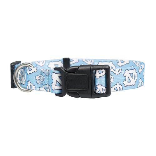North Carolina Tar Heels Pet Collar Size L - Special Order