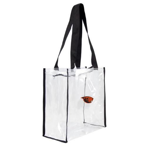 Oregon State Beavers Clear Square Stadium Tote - Special Order