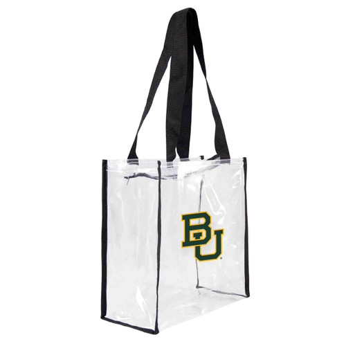 Baylor Bears Clear Square Stadium Tote - Special Order