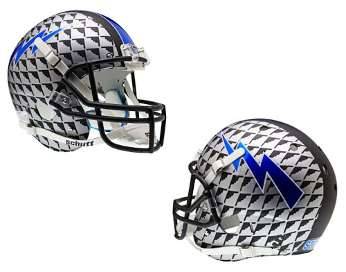 Air Force Falcons Schutt XP Full Size Replica Helmet - Aquatech Alternate Helmet #4 - Special Order