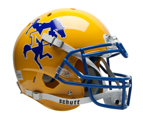 McNeese State Cowboys Schutt Authentic XP Full Size Helmet - Special Order
