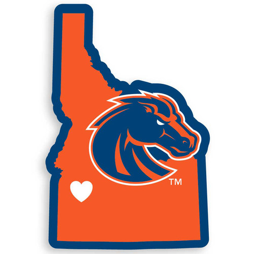 Boise State Broncos Decal Home State Pride Style - Special Order
