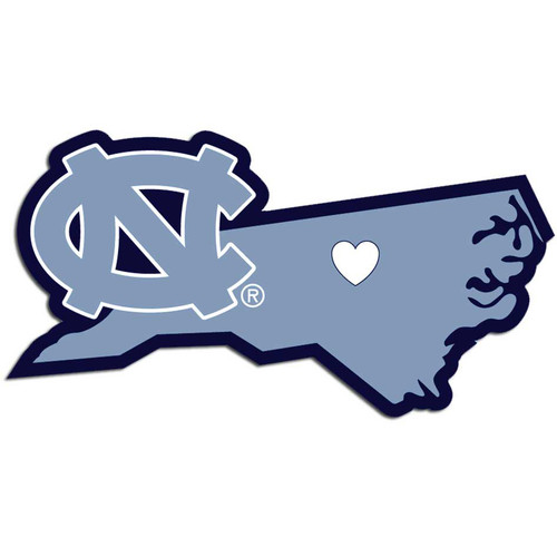North Carolina Tar Heels Decal Home State Pride Style - Special Order