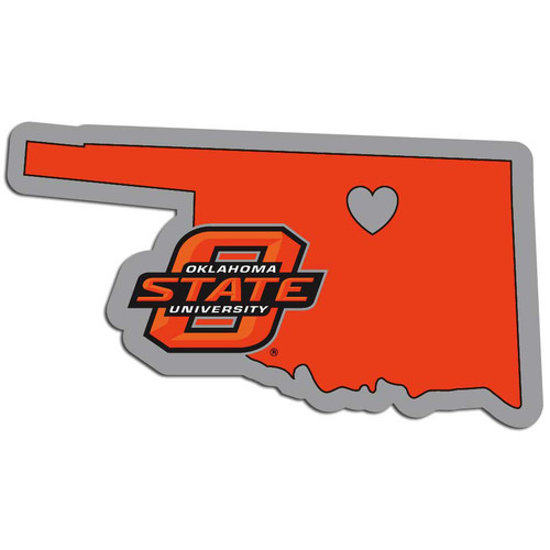 Oklahoma State Cowboys Decal Home State Pride Style - Special Order