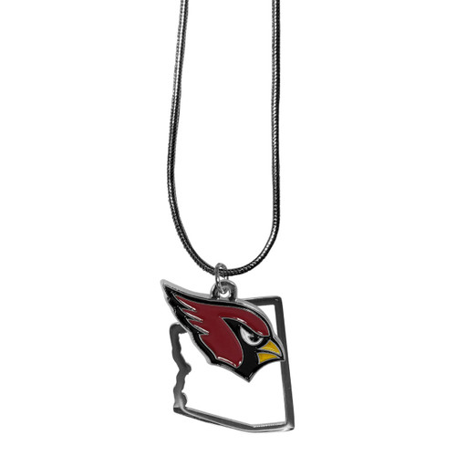 Arizona Cardinals Necklace State Charm - Special Order