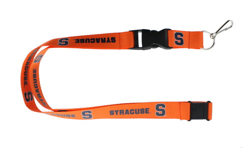 Syracuse Orange Lanyard - Orange - Special Order