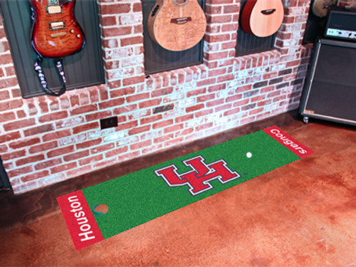 Houston Cougars Putting Green Mat - Special Order