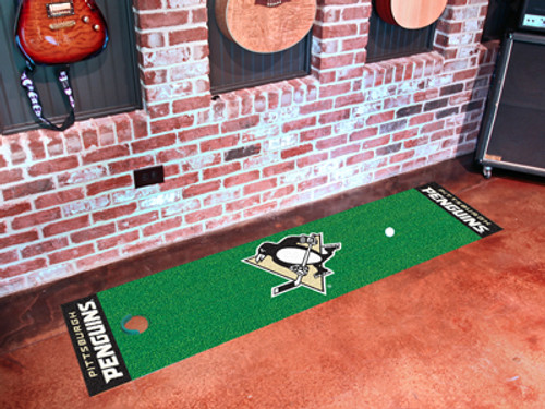 Pittsburgh Penguins Putting Green Mat - Special Order