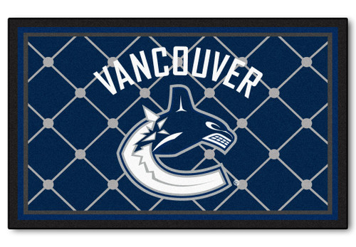 Vancouver Canucks Area Rug - 4'x6' - Special Order