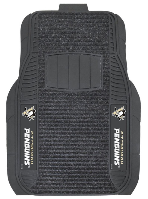 Pittsburgh Penguins Car Mats - Deluxe Set - Special Order