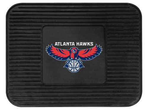 Atlanta Hawks Car Mat Heavy Duty Vinyl Rear Seat - Special Order