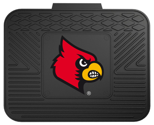 Louisville Cardinals Car Mat Heavy Duty Vinyl Rear Seat - Special Order