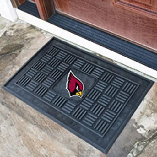 Arizona Cardinals Door Mat Medallion 19x30 - Special Order