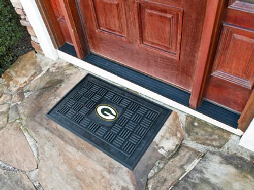 Green Bay Packers Door Mat Medallion 19x30 - Special Order