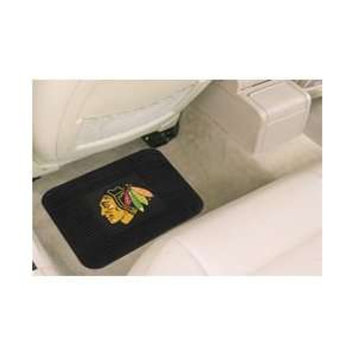 Chicago Blackhawks Car Mat Heavy Duty Vinyl Rear Seat