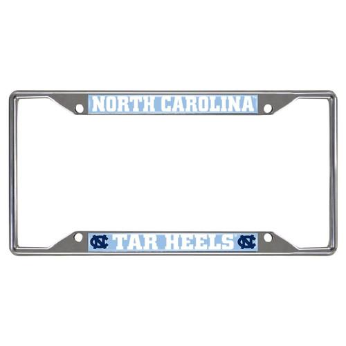 North Carolina Tar Heels Metal License Frame - FanMats - Special Order