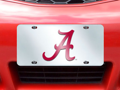Alabama Crimson Tide License Plate - Inlaid - FanMats - Special Order