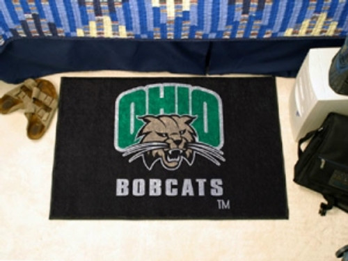 Ohio Bobcats Rug - Starter Style - Special Order