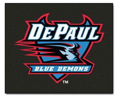 DePaul Blue Demons Area Rug - Tailgater - Special Order