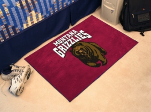 Montana Grizzlies Rug - Starter Style - Special Order