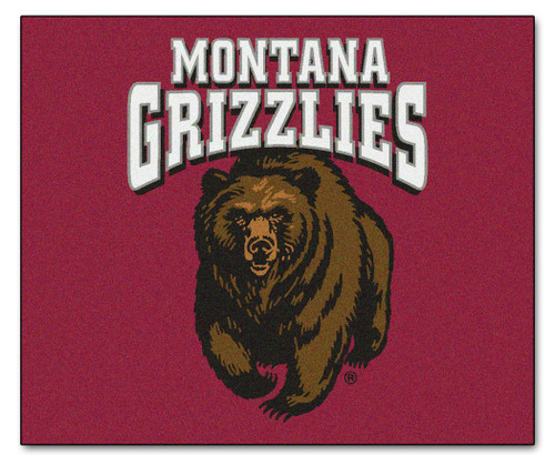 Montana Grizzlies Area Rug - Tailgater - Special Order
