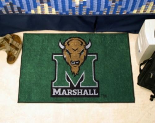 Marshall Thundering Herd Rug - Starter Style, Logo Design - Special Order