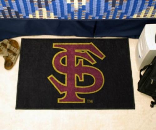 Florida State Seminoles Rug - Starter Style, 'FS' Design - Special Order