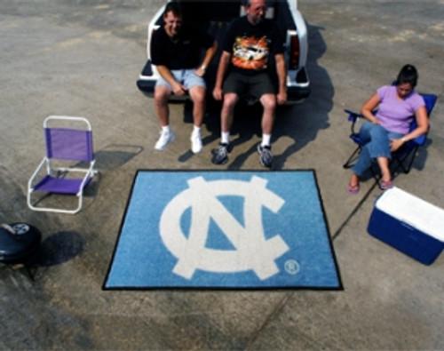North Carolina Tar Heels Area Rug - Tailgater, 'NC' Design - Special Order