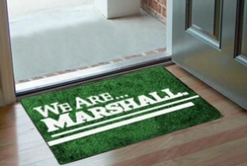 Marshall Thundering Herd Rug - Starter Style, 'We Are Marshall' Design - Special Order