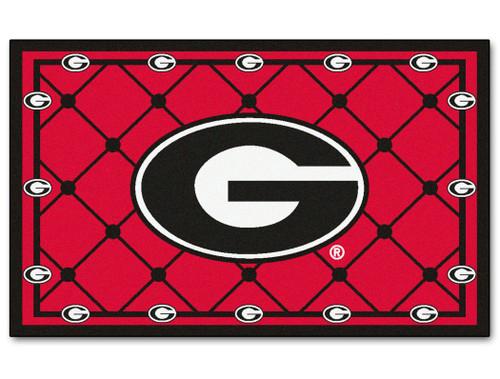 Georgia Bulldogs Area Rug - 5'x8' - Special Order
