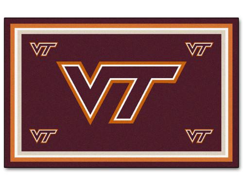 Virginia Tech Hokies Area rug - 4'x6' - Special Order