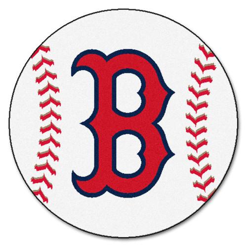 Boston Red Sox Baseball Mat 29 inch - Special Order