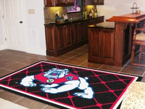 Fresno State Bulldogs Area rug - 4'x6' - Special Order