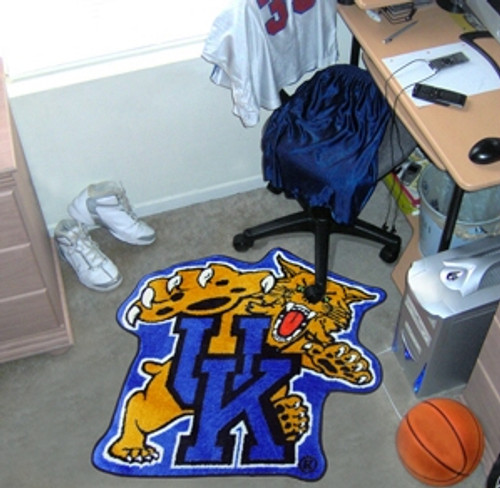 Kentucky Wildcats Area Rug - Mascot Style - Special Order