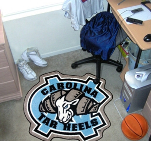 North Carolina Tar Heels Area Rug - Mascot Style - Special Order