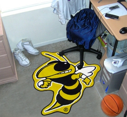 Georgia Tech Yellow Jackets Area Rug - Mascot Style - Special Order
