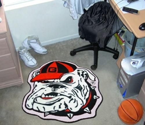 Georgia Bulldogs Area Rug - Mascot Style - Special Order