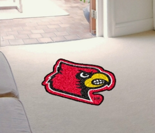 Louisville Cardinals Area Rug - Mascot Style - Special Order