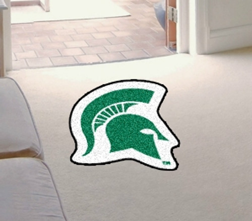 Michigan State Spartans Mascot Mat - Special Order