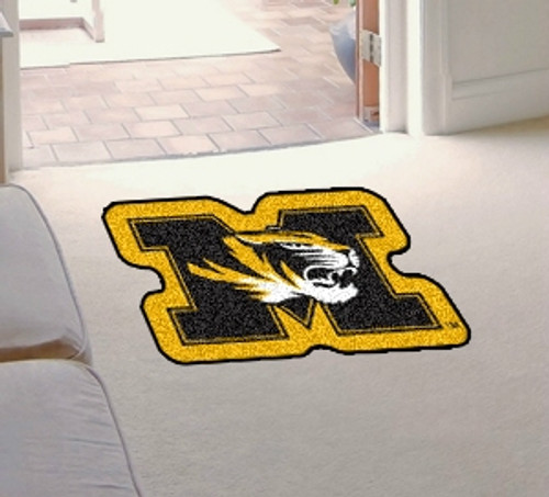 Missouri Tigers Area Rug - Mascot Style - Special Order