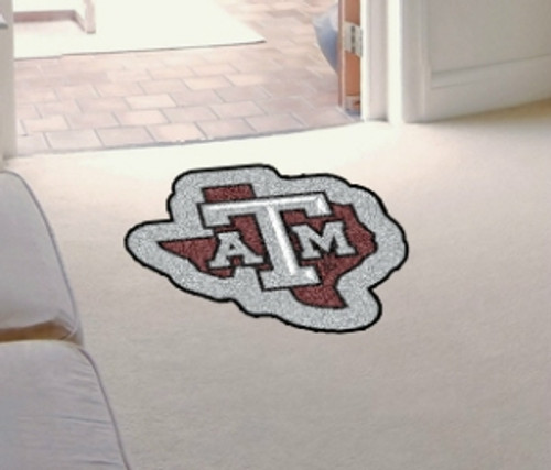 Texas A&M Aggies Area Rug - Mascot Style - Special Order