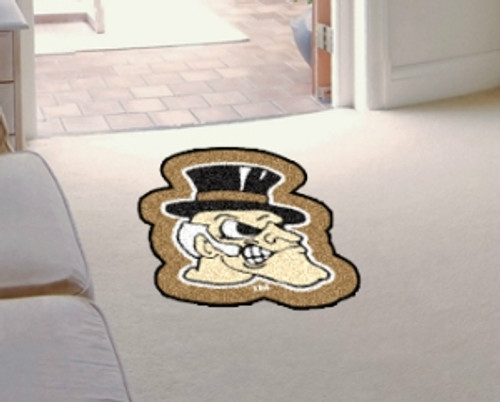 Wake Forest Demon Deacons Area Rug - Mascot Style - Special Order