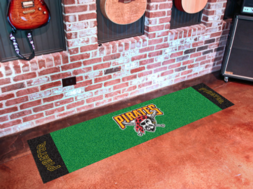 Pittsburgh Pirates Putting Green Mat - Special Order