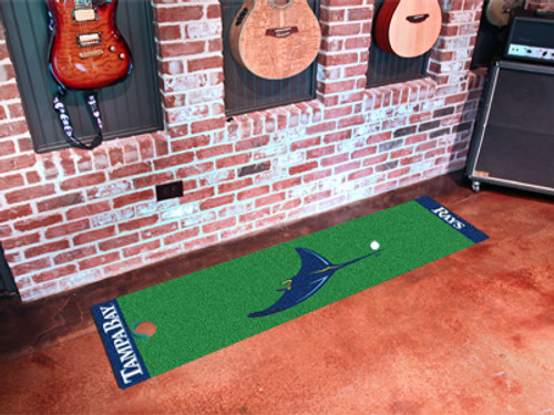 Tampa Bay Rays Putting Green Mat - Special Order