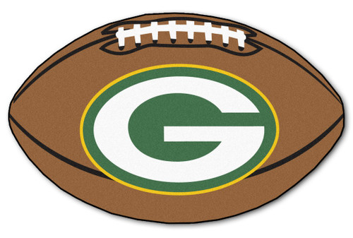 Green Bay Packers Football Mat 22x35 - Special Order