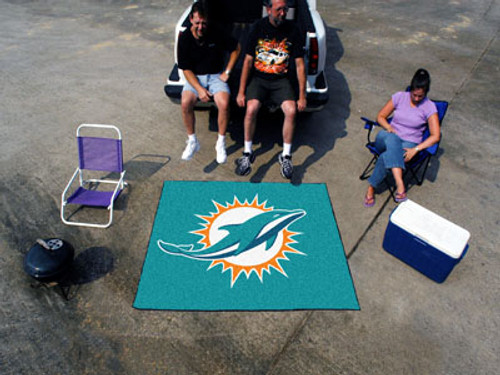Miami Dolphins Area Mat Tailgater - Special Order