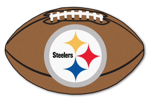 Pittsburgh Steelers Football Mat 22x35 - Special Order