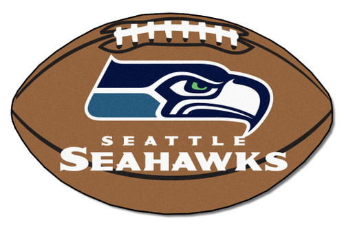 Seattle Seahawks Football Mat 22x35 - Special Order